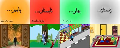 تصاویری از انیمیشنی که برای پروژه درس گرافیک کامپیوتری ارائه دادم.